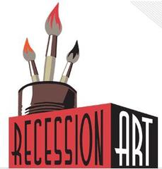 Recession Art Show Logo, N/A
