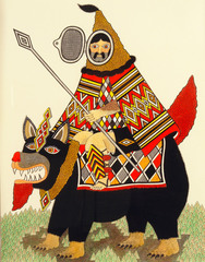 Mounted Warrior,Matt Leines