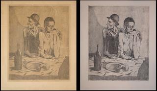 Le Repas Frugal, Pablo Picasso