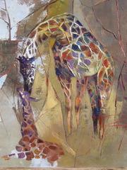 """Giraffe with mummy"", Radu Tesaro"