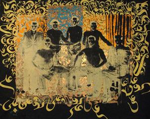 "From the series ""Ya Ali Madad"" (installation view @ Arndt & Partner), Khosrow Hassanzadeh"