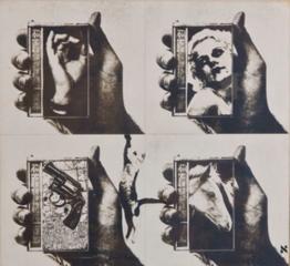 Untitled (Jean Harlow), Wallace Berman
