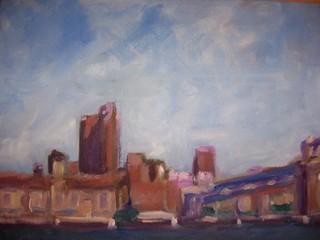 Manhattan Bridge-NY Skyline, BETSY JONCKHEER