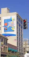Public Art: Kimiya the Wind / Mural, Vahe Bedrosian