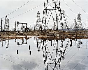 SOCAR Oil Fields #3, Baku, Azerbaijan, Edward Burtynsky