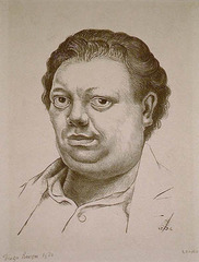 Self Portrait,Diego Rivera