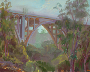 Colorado Bridge in Spring - Jury award winner 3rd place Pasadena Contest, Seda Saar