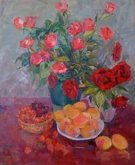 Roses, Apricots & Cherries, Seda Saar