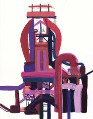 untitled (red), Marcie Kaufman