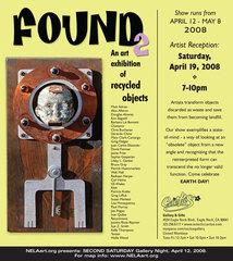Found 2, Kelly Thompson, Tooter, Douglas Alvarez, Yuki Miyazaki, Group Exhibition (Walt Hall, and more)
