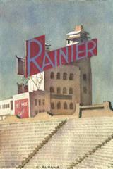 Seals Stadium #6 (Ranier Beer Sign) , Carl Aldana