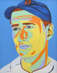 Ted Williams, Colour Field , Jennifer Ettinger