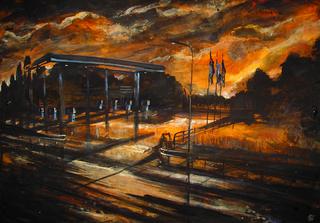 Stazione di servizio, Alessandro Busci