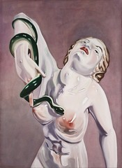 Woman with Serpent,Amy Bessone