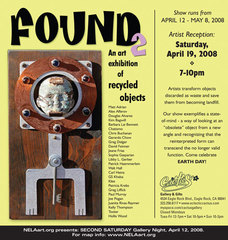 Found 2: Recycled Art Exhibition,