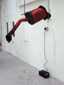 Jamesandersonsculptureelectromagnetironfilingsexhaust0392