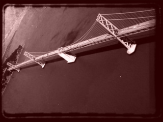 Upsidedown Bay Bridge,