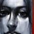 Blue-the__expectant_gaze__60x50__charcoal___acrylic_on_canvas