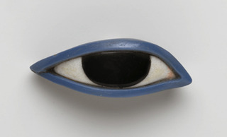 Right Eye from an Anthropoid Coffin. Egypt,