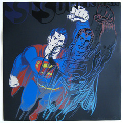 Superman (F&S II. 260), 1981, Andy Warhol