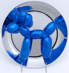 Blue Balloon Dog Sculpture, 2002 , Jeff Koons