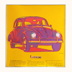 Volkswagen, From Ads Portfolio (F&S IIB. 358), 1985 , Andy Warhol