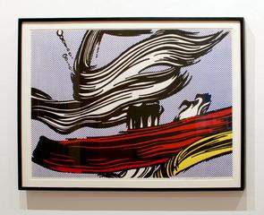 Brushstrokes (Corlett 45), 1967, Roy Lichtenstein