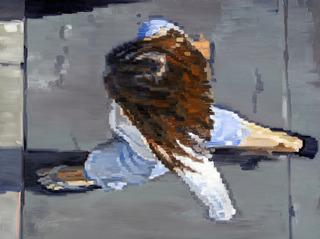 Getty Center Sandal Girl, Warren Keating