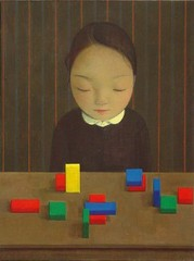 Girl with Toy Bricks, Liu Ye