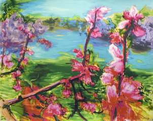 Peach Flower, Zhou Chun Ya