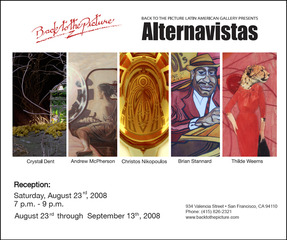 Alternavistas, curated by Randy Figures, Brian Stannard, Crystal Dent, Andrew McPherson, Thilde Weems, Christos Nikopoulos