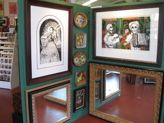 Lydia! and La Calavera Norteña, Latin American Art & Ceramics in the Mission, Emmanuel Montoya