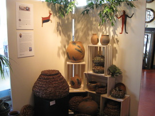 Baskets by the Kumeyaay of Baja California, Pottery by the Pai-Pai of Baja California, Northern México Artistry:  Transcending the Fence, curated by Maria V. Pinedo,