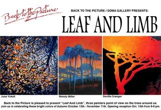 Leaf and Limb, curated by Sevilla Granger, Sevilla Granger, June Yokell