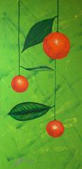 Hanging-oranges