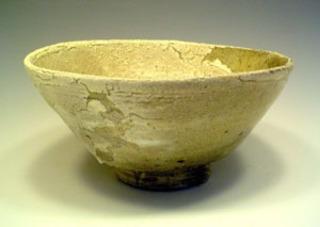 Summer Tea Bowl With Glaze, Takao Okazaki
