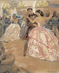 Baile de Salon, Enrique García Cabrera