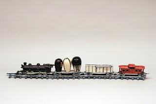Art Train (homage to Jun Kaneko), Steven Allen