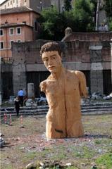 Cesar's Forum, Rome, Stephan Balkenhol