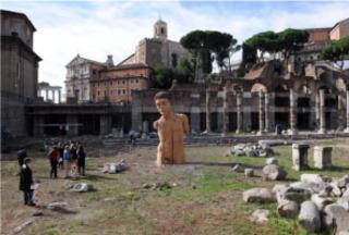 Cesar\'s Fprum, Rome, Stephan Balkenhol