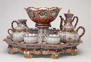 """Sèvres Porcelain Factory, """"Déjeuner chinois réticulé,"""" ca. 1842,"""