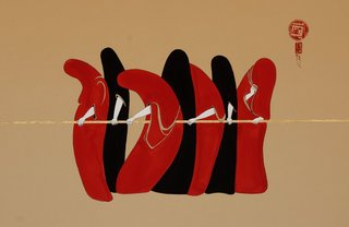 In Line,Hayv Kahraman