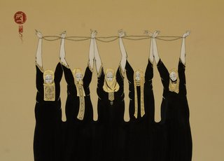 Chained Women,Hayv Kahraman