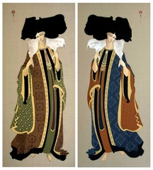 Carryin On Shoulder 1&2, Hayv Kahraman