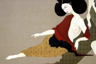 Repose (detail 1),Hayv Kahraman