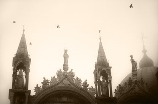Bird and Spires, Sarah Hadley