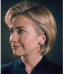 Untitled (portrait of Hillary Rodham Clinton), Chuck Close