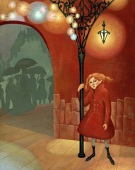 Girl with a Red Coat, Dany Paragouteva