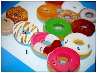 甜甜圈人再登陆, Lau Wai
