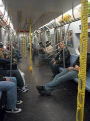 subway cozy,Heather Hart